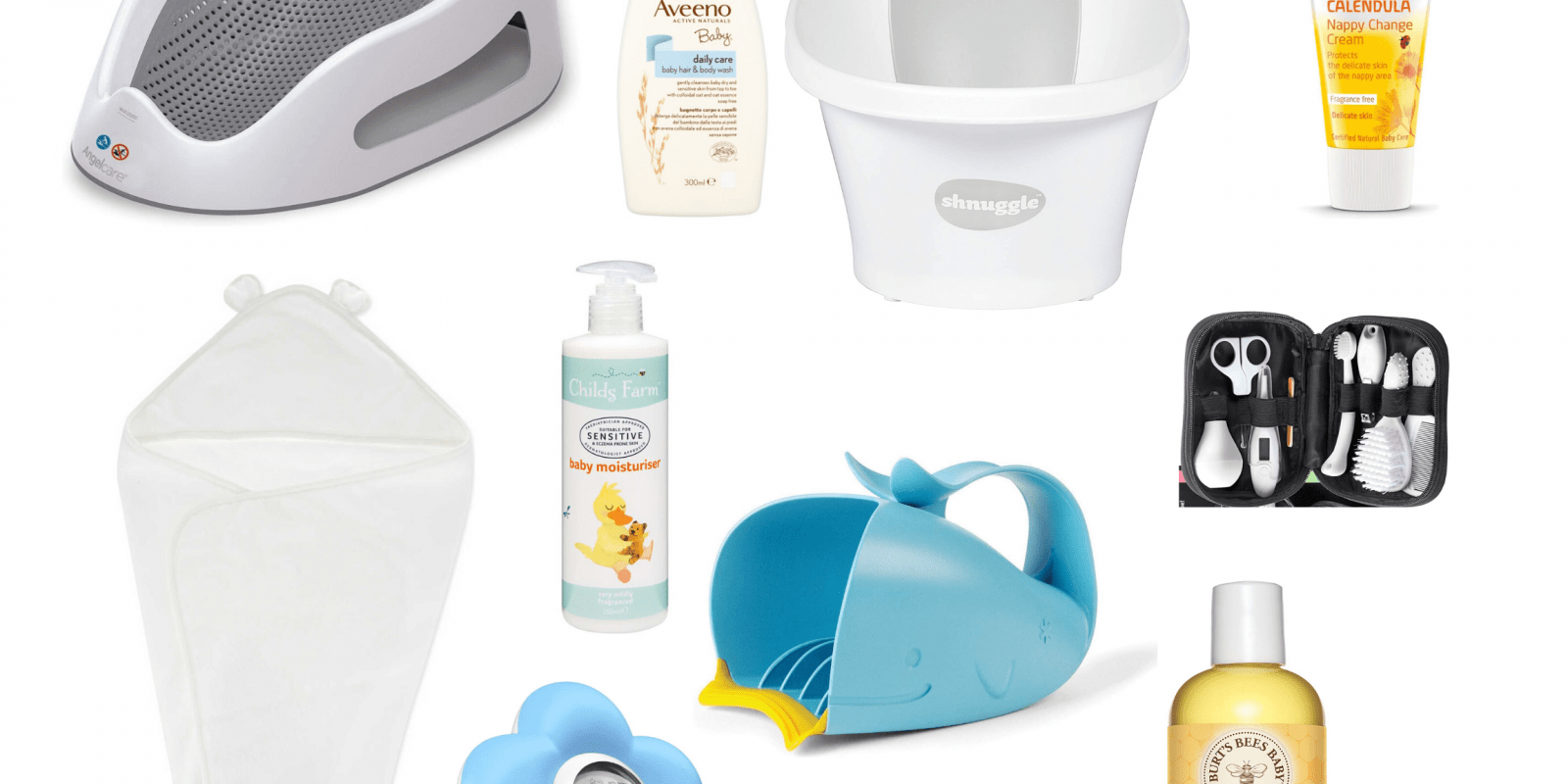 Ultimate Baby Bath Essentials Kit-2