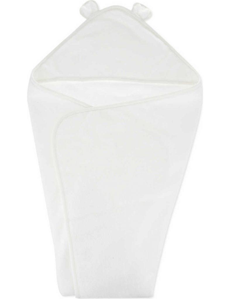 The White Company Hydrocotton Baby Bath Towel